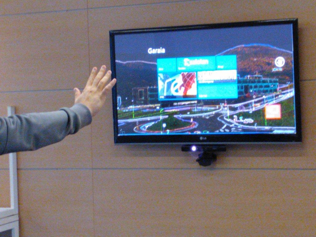 Digital Signage with Kinect