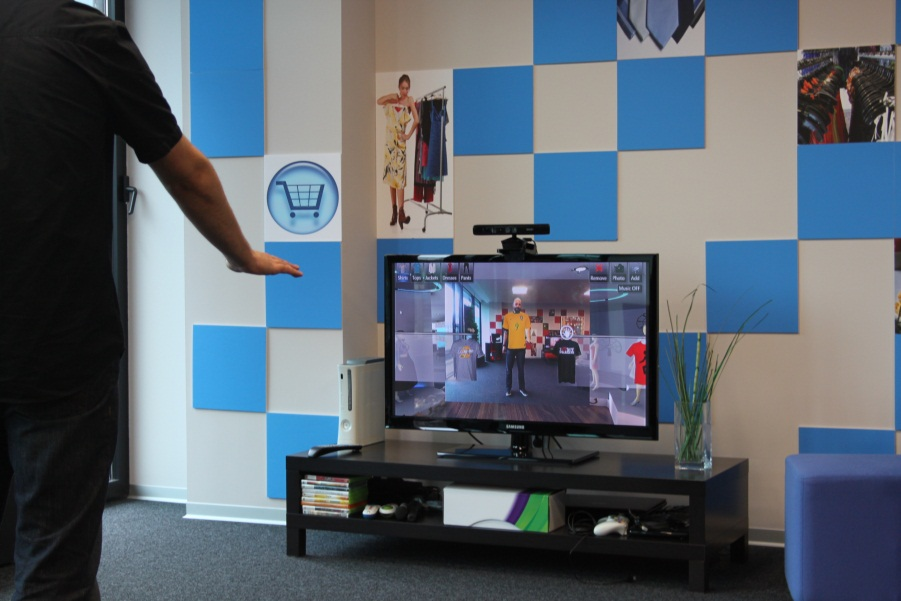 Virtual Dressing with Kinect